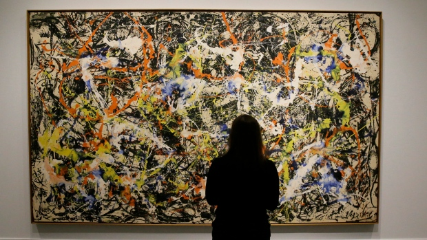 Jackson Pollock S Lesser Known Black Paintings Showcased