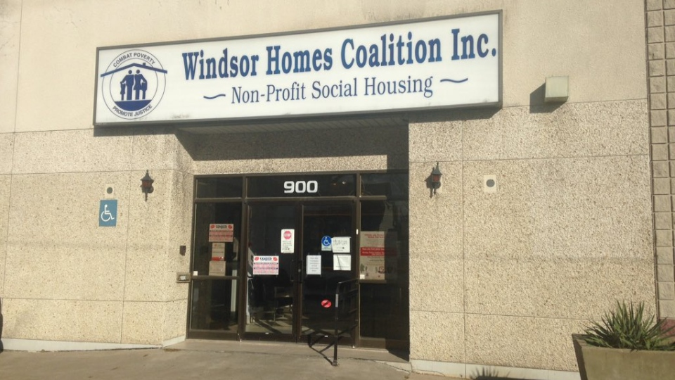 Windsor Homes Coalition forced to close due to lack of food in Windsor, Ont., on Thursday, Nov. 19, 2015. (Christie Bezaire / CTV Windsor)
