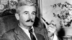 This 1950 file photo shows American novelist William Faulkner at his home in Rowan Oaks near Oxford, Miss. (AP Photo, File)