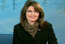 Alaska Gov. Sarah Palin speaks with CTV's Canada AM during an interview at Fairbanks, Alaska.