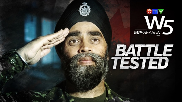 W5 profiles Canada's new Defence Minister Harjit Sajjan.
