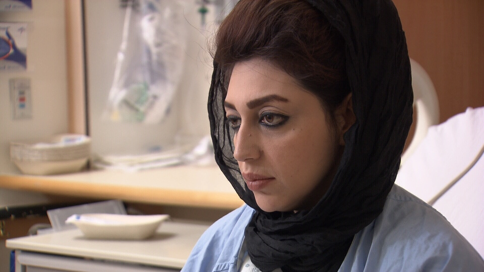 Asylum-seeker Freshta Hashim has been told she'll be removed from a Vancouver hospital and deported to the U.S. Nov. 20, 2015. (CTV)