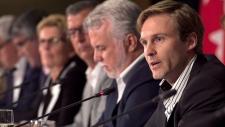 Brian Gallant at meeting of premiers