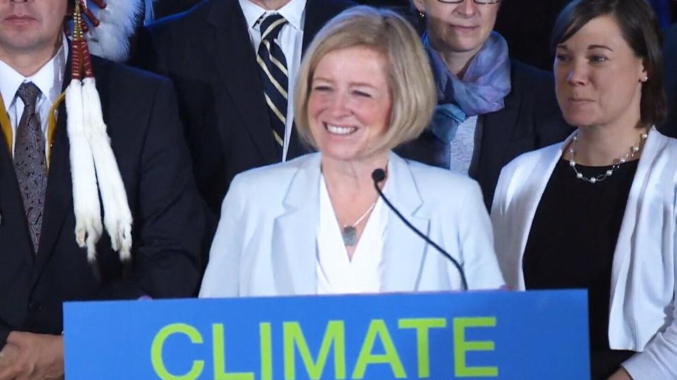 Notley announces climate change plan