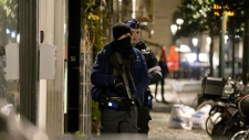 Police in Brussels carry out raids