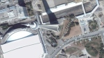 The CN Tower and surrounding area on Aug. 8, 2007 (Google Earth)