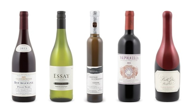 November 23, 2015 Wines of the week