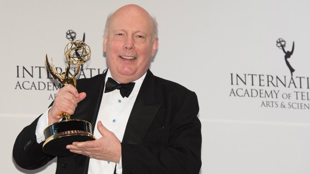 Julian Fellowes at International Emmys