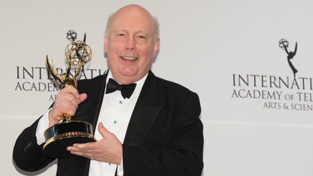 Julian Fellowes at International Emmys