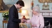 Trudeau meets queen