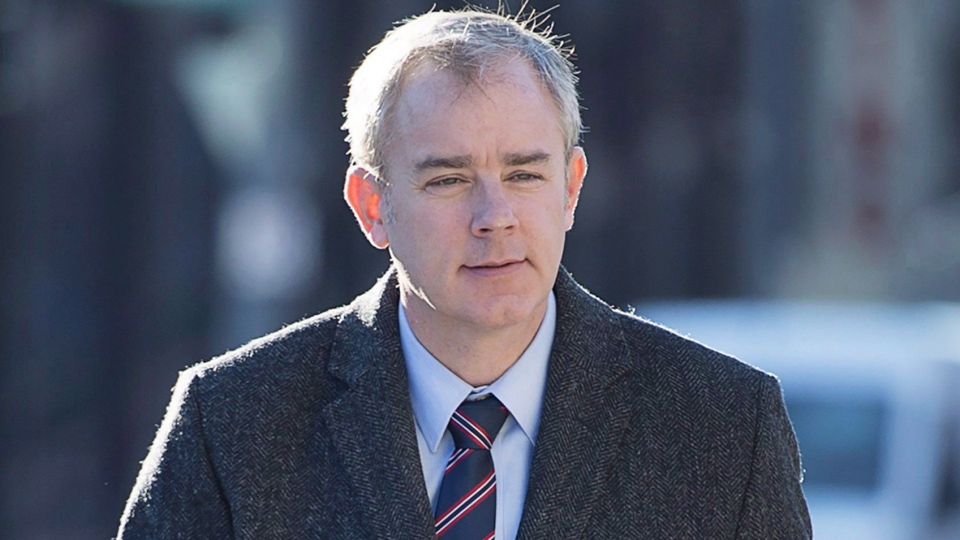 Dennis Oland has pleaded not guilty to a charge of second-degree murder in the death of his father, Richard Oland.