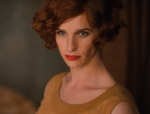 This photo provided by Focus Features shows, Eddie Redmayne as Lili Elbe, in Tom Hooper's 'The Danish Girl.' (Focus Features via AP)