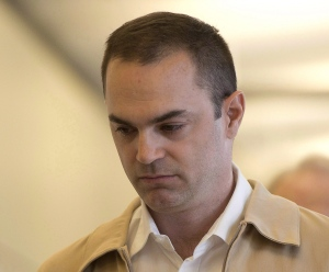 Guy Turcotte arrives at the courthouse on September 28, 2015 in Saint Jerome, Que. (Ryan Remiorz / The Canadian Press)