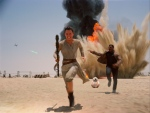 "This photo provided by Disney shows Daisey Ridley as Rey, left, and John Boyega as Finn, in a scene from the new film, ""Star Wars: Episode VII - The Force Awakens,"" directed by J.J. Abrams. The movie, which received a PG-13 rating, releases in the U.S. on Dec. 18, 2015. (Film Frame / Disney / Copyright Lucasfilm 2015 via AP)"