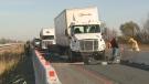 401 truck crash