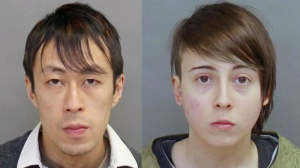 Kevin Chan, 32, and Kayla Drumonde, 23, pictured in police handout images.