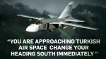 Turkey releases audio of warning