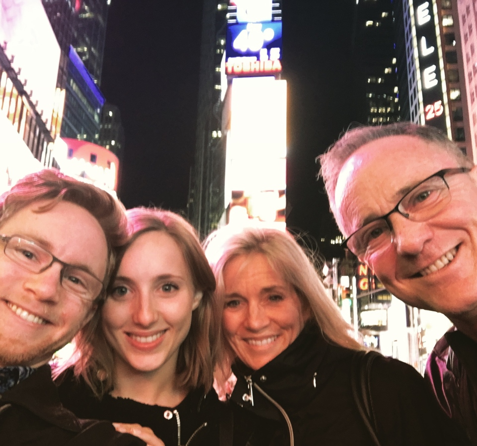 The Newman family in New York