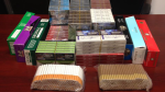 The RCMP seized more than 1.5 million contraband cigarettes from a home in northeastern New Brunswick in November 2015. (RCMP)
