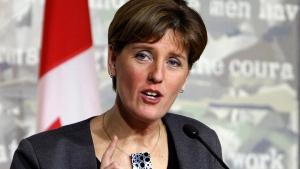 International Development Minister Marie-Claude Bibeau in Ottawa on Nov. 26, 2015. (Fred Chartrand / THE CANADIAN PRESS)