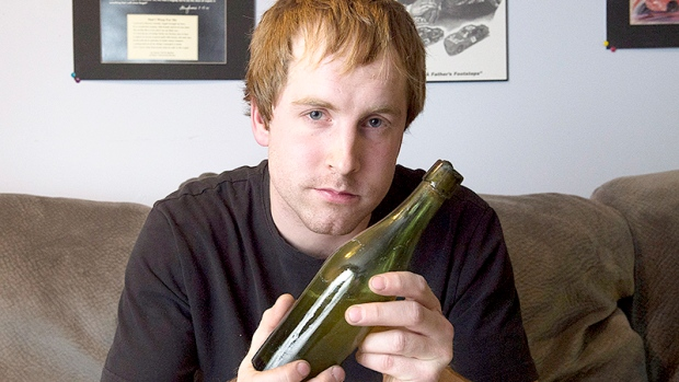 Jon Crouse beer bottle