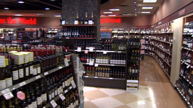 A BC Liquor Store is seen in this file photo.