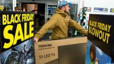 Black Friday sales Canada
