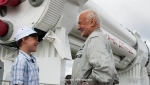 Ethan Jogola said the highlight of his trip to Florida was meeting his space hero, former astronaut Buzz Aldrin.