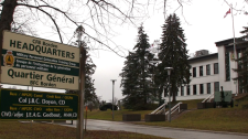 File Image: CFB Borden Headquarters