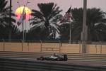 Mercedes driver Lewis Hamilton of Britain steers his car during the qualifying session at the Yas Marina racetrack in Abu Dhabi, United Arab Emirates, Saturday, Nov. 28, 2015. (AP / Kamran Jerbeili)