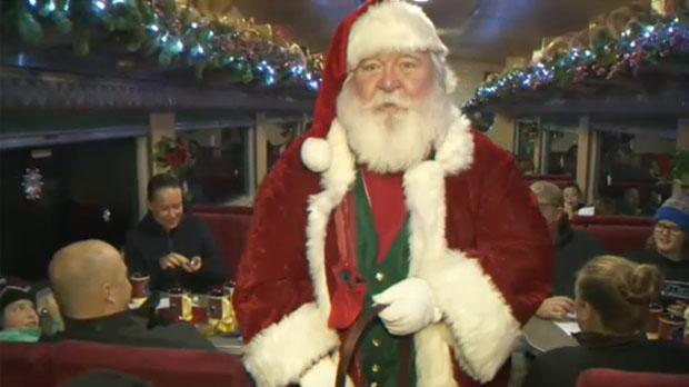 Santa Claus - The Polar Express Alberta