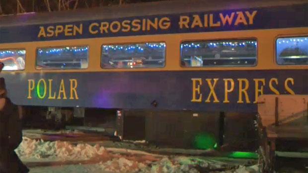 Aspen Crossing Railway's The Polar Express in Mossleigh, Alberta