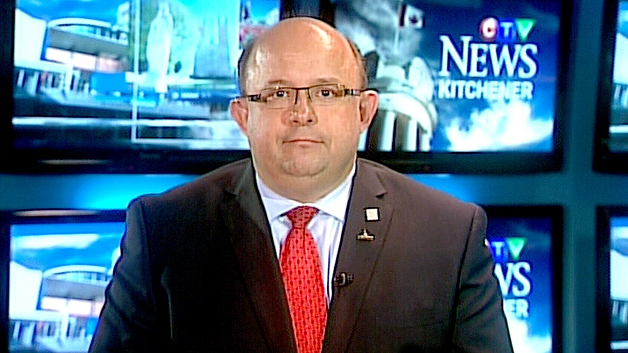 Kitchener Mayor Berry Vrbanovic speaks with CTV's Question Period on Nov. 29, 2015.