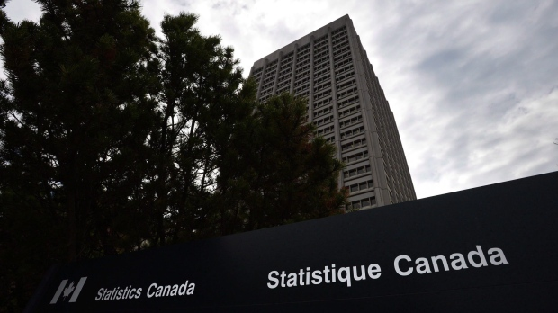 In this file photo, the Statistics Canada offices at Tunney's Pasture, in Ottawa, are seen on May 1, 2013. (Sean Kilpatrick/THE CANADIAN PRESS)