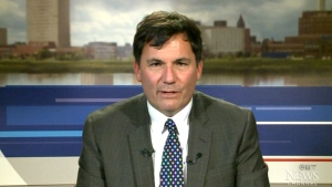 Government House Leader Dominic LeBlanc appears on CTV's Question Period on Sunday, Nov. 29, 2015.