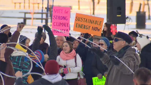 Sunalta - Climate Change rally