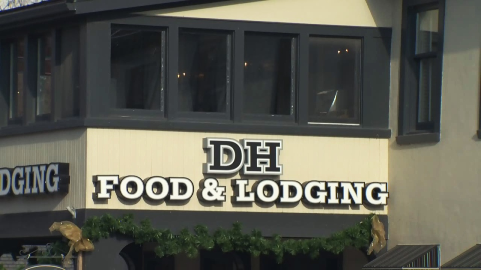 DH Food and Lodging on King Street in St. Jacobs is pictured on Monday, Nov. 30, 2015.