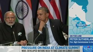 Pressure on India