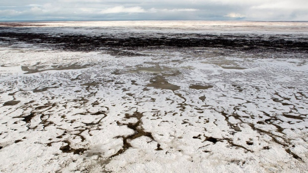 Google Street View of sea ice