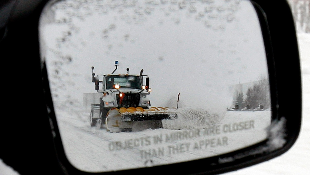 Snow plow Ontario file