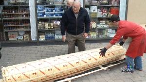 CTV Ottawa: Nicastro's big cheese