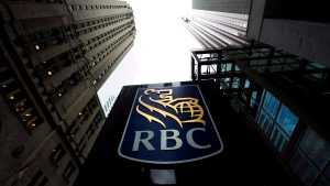 In this file photo, a Royal Bank of Canada sign is pictured in downtown Toronto on Dec. 2, 2011. (The Canadian Press/Nathan Denette)