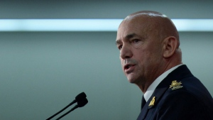 RCMP Commissioner Bob Paulson delivers a speech at a security conference in Ottawa on Wednesday, Nov. 25, 2015. (Sean Kilpatrick / THE CANADIAN PRESS)