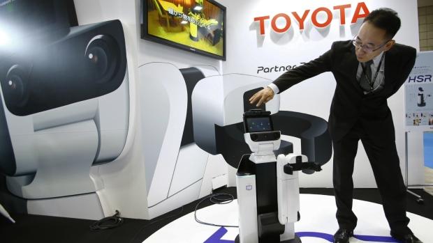 Toyota putting more funding in robotics