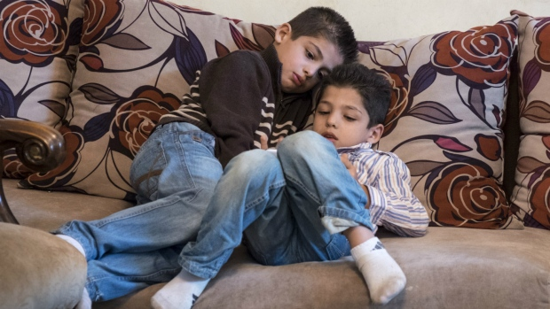 Syrian children wait to come to Canada