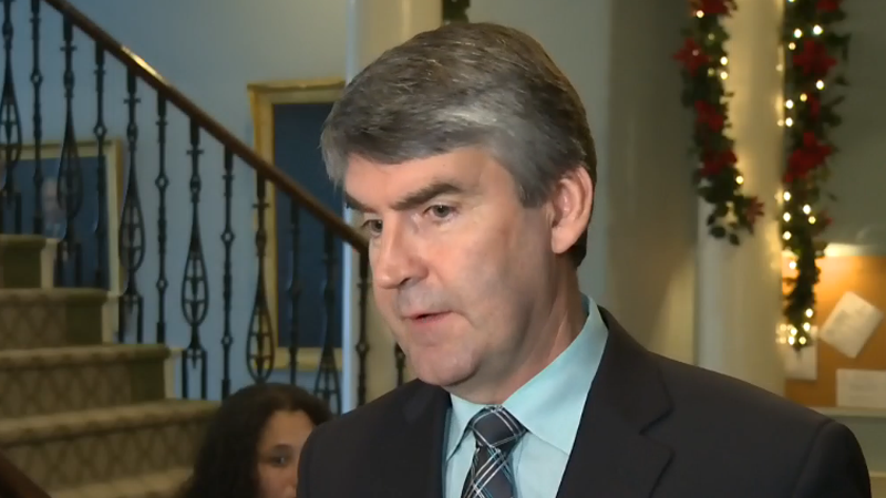 Stephen McNeil said Wednesday although legislation was being drawn up after the province's teachers rejected a contract offer, no decision has been made to use it.