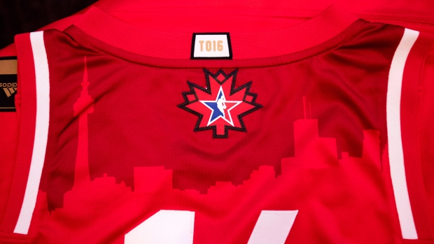 sale retailer b63f5 6f62e NBA all-star jerseys to pay tribute to Toronto's basketball ...