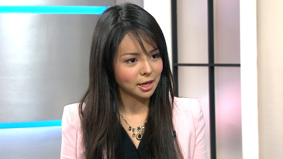 Anastasia Lin, winner of the Miss World Canada pageant, appears on CTV's Canada AM Friday, Dec. 4, 2015.