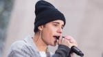 "Justin Bieber performs on NBC's ""Today"" show at Rockefeller Plaza on Wednesday, Nov. 18, 2015 in New York. (THE CANADIAN PRESS/AP/Photo by Charles Sykes/Invision/AP)"