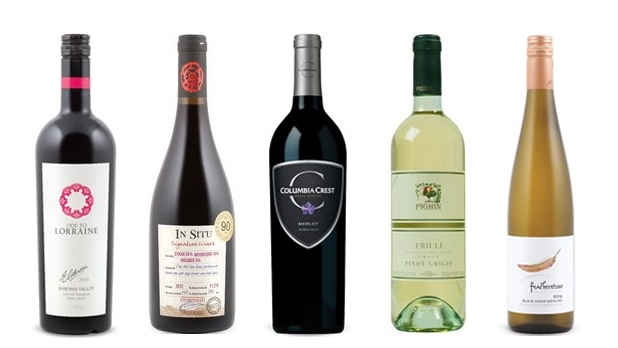 Dec 7 Wines of the week